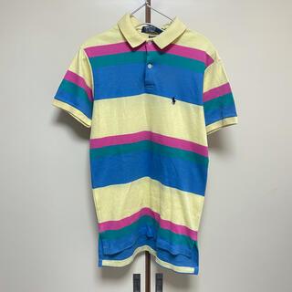 ポロラルフローレン(POLO RALPH LAUREN)のUSA製 ポロ ラルフローレン ポロシャツ ボーダー レディース(ポロシャツ)