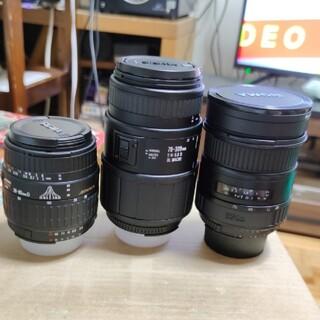 SIGMA - Nikon FマウントSIGMAレンズ3本セット中古