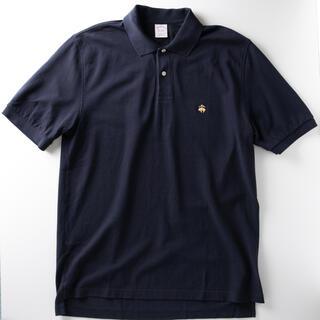 ブルックスブラザース(Brooks Brothers)の【未使用】ブルックスブラザーズ クラシック 鹿の子 ネイビー ポロシャツ L(ポロシャツ)