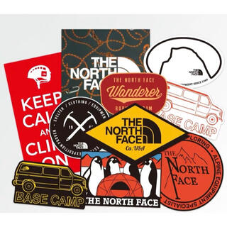 THE NORTH FACE - ★ノースフェイス★ アウトドア キャンプ防水ステッカー10点セット