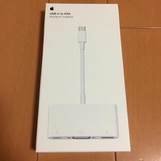 Apple - Apple USB-C VGA Multiportアダプタ MJ1L2AM/A