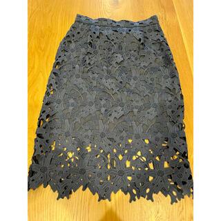ナノユニバース(nano・universe)のナノユニバース レースタイトスカート(ひざ丈スカート)