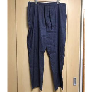 コモリ(COMOLI)のcomoli 21ss リネンコットン ドローストリングパンツ サイズ2(スラックス)