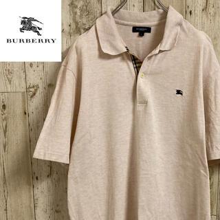 BURBERRY - バーバリーロンドン 半袖ポロシャツ ワンポイントロゴ バーバリーチェック柄