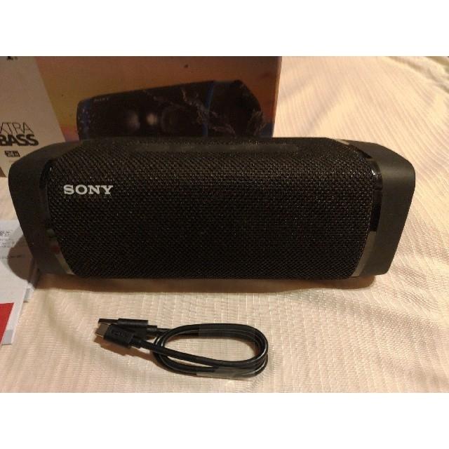 SONY(ソニー)のソニー SONY ポータブルスピーカー SRS-XB33 スマホ/家電/カメラのオーディオ機器(スピーカー)の商品写真