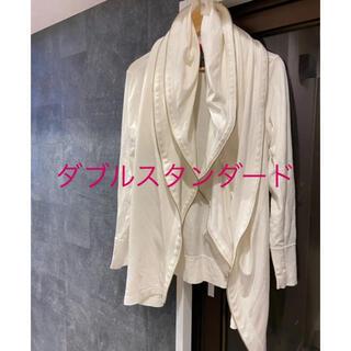ダブルスタンダードクロージング(DOUBLE STANDARD CLOTHING)のダブルスタンダードダブルジップパーカー(パーカー)