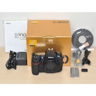 Nikon - 【動作品】Nikon D300 ボディ (CFカード32GBおまけ付き!)