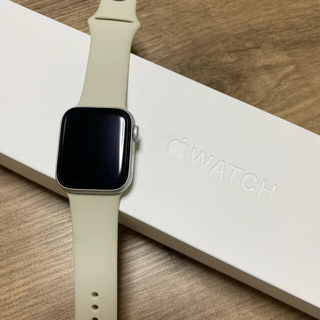 Apple Watch - Apple w'atch Series4 40mm シルバー