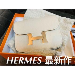 Hermes - エルメス HERMES コンスタンス スリム ナタ ウォレット 財布