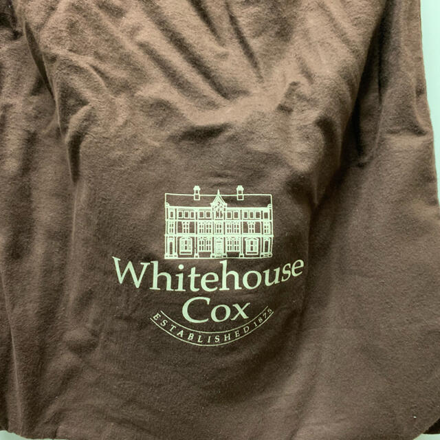 WHITEHOUSE COX(ホワイトハウスコックス)のWhitehouse Cox  キャンバストートバッグ メンズのバッグ(トートバッグ)の商品写真