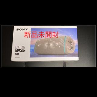 ソニー(SONY)の【新品未開封】ソニー SRS-XB43 Cベージュワイヤレスポータブルスピーカー(スピーカー)