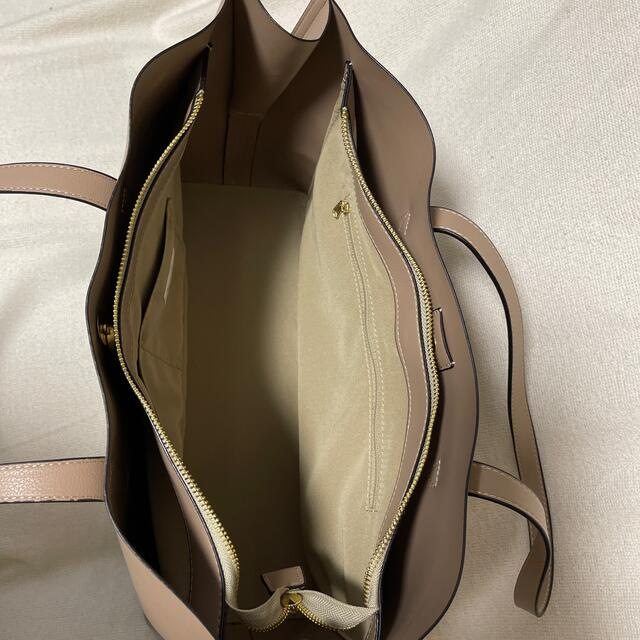 Legato Largo(レガートラルゴ)の【legato largo】軽いかばんシリーズ ベージュ レディースのバッグ(トートバッグ)の商品写真