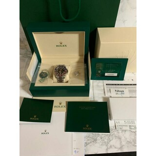 ROLEX - ロレックス GMTマスター ベゼル メンズ腕時計