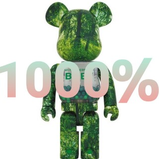 MEDICOM TOY - MY FIRST BE@RBRICK B@BY GREEN 1000%400%