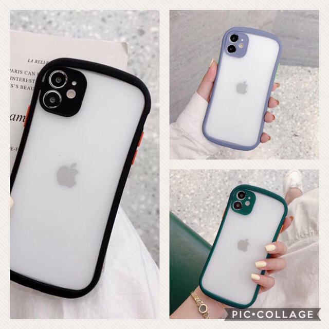iFace風 iPhoneケース【iPhone 12pro、12、11対応】 スマホ/家電/カメラのスマホアクセサリー(iPhoneケース)の商品写真
