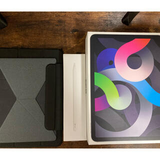 Apple - I Pad air 4 スペースグレイ 64GB  wifi モデルセット
