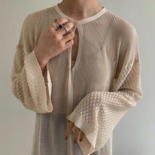 Kastane - 完売 即日発送 Amiur openwork knit ops