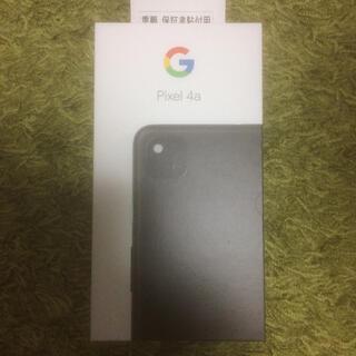 Google Pixel - 新品未使用 pixel 4a bk ブラック