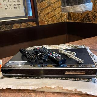 シャープ(SHARP)のSHARP BDW560 12倍録 2番組W録 500GB 外付HDD フル装備(ブルーレイレコーダー)