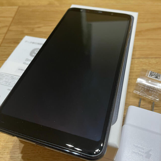 ギャラクシー(Galaxy)のGALAXY A7 BLACK SMーA750C 64GB SIMフリー (スマートフォン本体)
