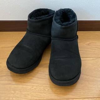 アグ(UGG)のUGG CLASSIC MINI*クラシックミニ*ムートンブーツブラック(ブーツ)