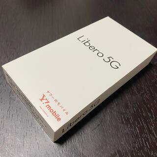 アンドロイド(ANDROID)の   新品  Y! mobile『Libero 5G 』SIMフリー ★(スマートフォン本体)