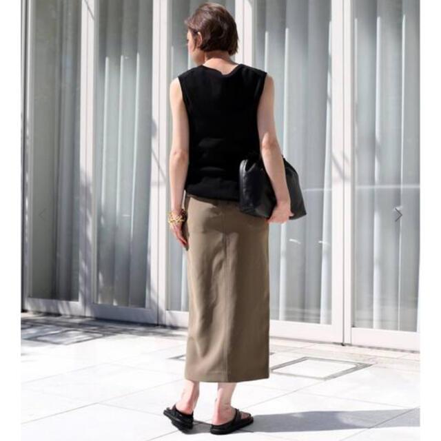 DEUXIEME CLASSE(ドゥーズィエムクラス)の新品!DeuxiemeClasse【CINOH/チノ 】 SLIT スカート レディースのスカート(ロングスカート)の商品写真