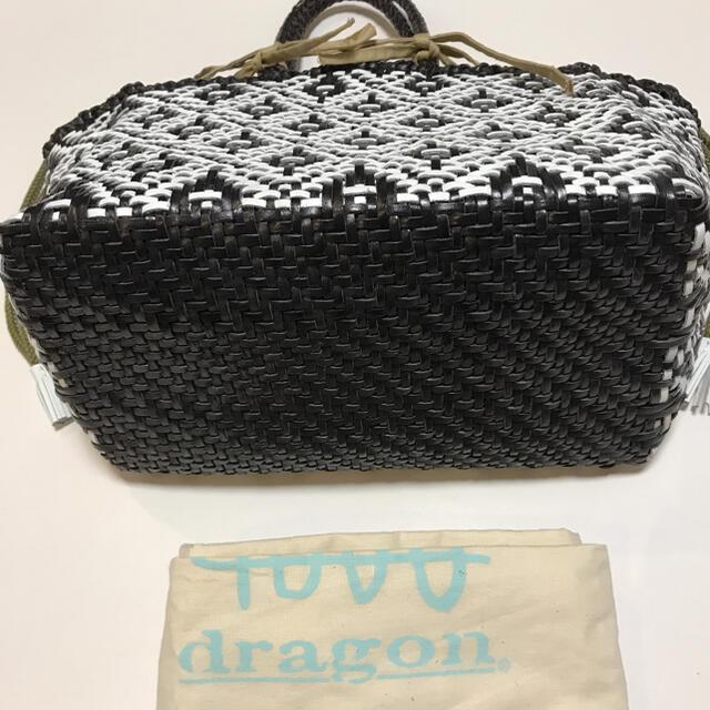 DRAGON(ドラゴン)のドラゴンディフュージョン 8917 ニューフラワー KUMARI カゴバッグ レディースのバッグ(ハンドバッグ)の商品写真