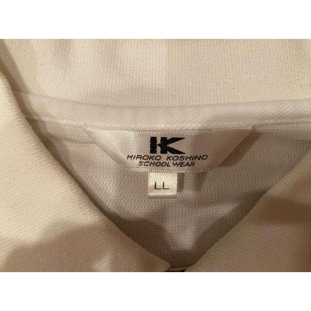 HIROKO KOSHINO(ヒロココシノ)の明誠学院 ポロシャツ 制服 明誠 岡山 メンズのトップス(Tシャツ/カットソー(半袖/袖なし))の商品写真