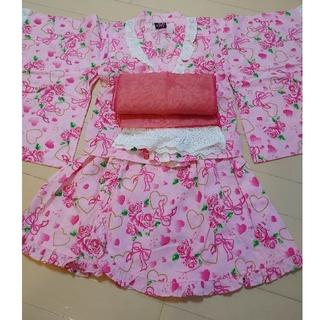 浴衣 セパレートタイプ 110サイズ(甚平/浴衣)