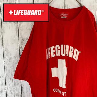 US ヴィンテージ 古着 LIFEGUARD ライフガード 半袖 Tシャツ