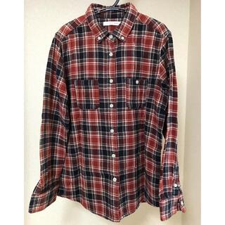 ローリーズファーム(LOWRYS FARM)のLOWRYSFARM チェックシャツ 赤(シャツ/ブラウス(長袖/七分))