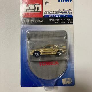 トミー(TOMMY)のピカピカトミカ GT-R(ミニカー)