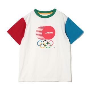 ビームスボーイ(BEAMS BOY)のJOCエンブレム / 配色 Tシャツ(Tシャツ(半袖/袖なし))