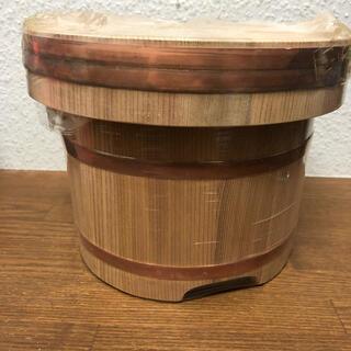 天然 秋田杉 おひつ 5合 銅タガ