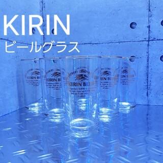 キリン(キリン)のKIRINビールグラス 昭和レトロ6個セット(グラス/カップ)