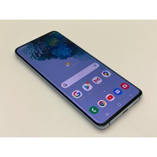 ギャラクシー(Galaxy)の[996] galaxy S20 5G 128GB ブルー SIMフリー(スマートフォン本体)