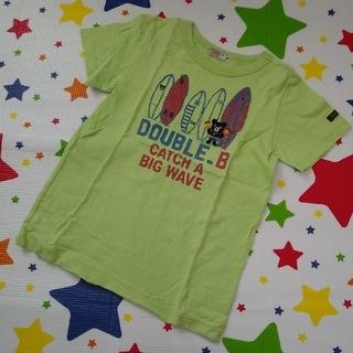 DOUBLE.B - ダブルB サーフボードTシャツ 130cm グリーン ミキハウス