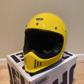 Shoei ex-zeroブリリアントイエロー中古美品XL黄色ヘルメット