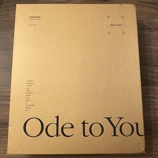 セブンティーン(SEVENTEEN)のSEVENTEEN Ode to You ソウルコン Blu-ray 日本仕様(K-POP/アジア)