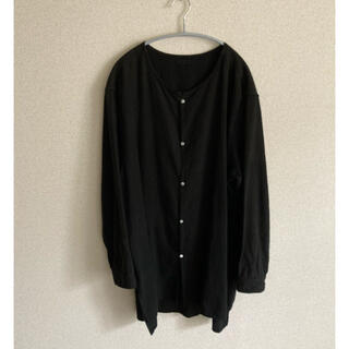 COMOLI - Mittan  コットンシャツ ブラック