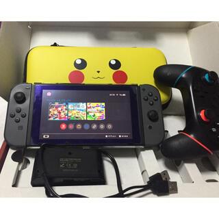 Nintendo Switch - Nintendo Switch ニンテンドースイッチ 本体 グレー あつ森