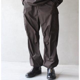 COMOLI - AURALEE  NYLON FATIGUE PANTS   【新品未使用】
