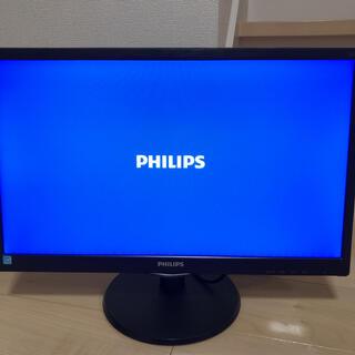 フィリップス(PHILIPS)のPHILIPS 223V5LHSB/11(ディスプレイ)