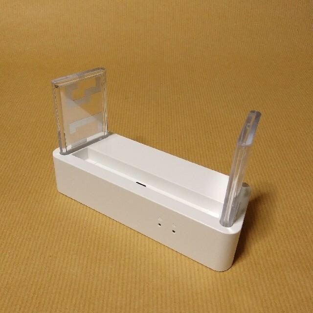 NEC(エヌイーシー)の美品 Speed Wi-Fi NEXT WX06 クレードル NAD36PUU スマホ/家電/カメラのスマートフォン/携帯電話(その他)の商品写真