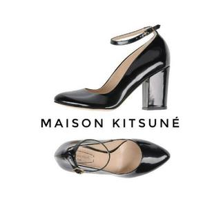 メゾンキツネ(MAISON KITSUNE')のMAISON KITSUNE クラシックレザーパンプス (ハイヒール/パンプス)