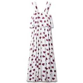 gelato pique - 新品 カップイン ハート柄ドレス ワンピース