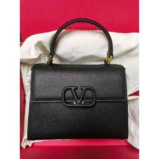 ヴァレンティノ(VALENTINO)のVスリング グレインカーフスキン スモール ハンドバッグ(ショルダーバッグ)