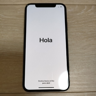 iPhone - iPhoneX 64GB simフリー化済み ネットワーク制限なし 本体のみ