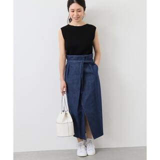 IENA - 【IENA】タックラップスカート